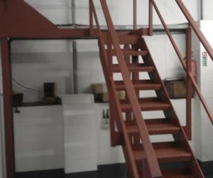 Fabrication section-stairs