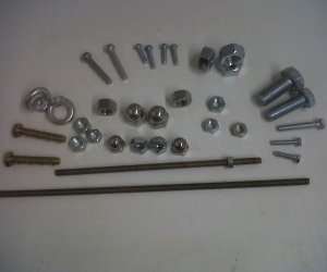 Nuts, bolts and fixtures supplied